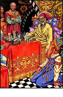 Ivan the Terrible - Ivan died from a stroke while playing chess with Bogdan Belsky[47] on 28 March [O.S. 18 March] 1584.[47] Upon Ivan's death, the Russian throne was left to his unfit and childless middle son Feodor. Feodor died childless in 1598, ushering in the Time of Troubles.