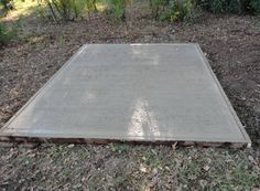 How To Build a Shed Base | Building a Shed Base