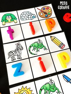 Short i word families games and activities