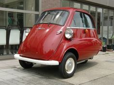 BMW / Isetta 300 Bmw Isetta, Small Cars, Old Cars, Classic Cars, Bike, Vehicles, Bicycle, Vintage Classic Cars, Bicycles