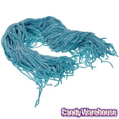 Sour Blue Raspberry Licorice Laces: 2LB Bag | CandyWarehouse.com Online Candy Store