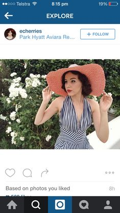 Vintage Swimsuits, Crochet Hats, Fashion, Knitting Hats, Moda, Fashion Styles, Vintage Bathing Suits, Fashion Illustrations, Retro Bathing Suits
