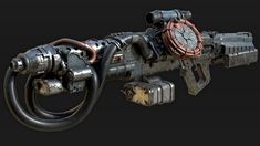 Inspired by various Wolfenstein weapons Zombie Weapons, Sci Fi Weapons, Weapon Concept Art, Fantasy Weapons, Weapons Guns, Modified Nerf Guns, Future Weapons, Wolfenstein, Fallout New Vegas