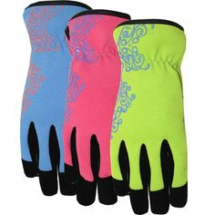 Shop MidWest Quality Gloves, Inc. Womenu0027s Small Synthetic Leather Garden  Gloves At Loweu0027s Canada. Find Our Selection Of Garden Gloves At The Lowest  Price ...