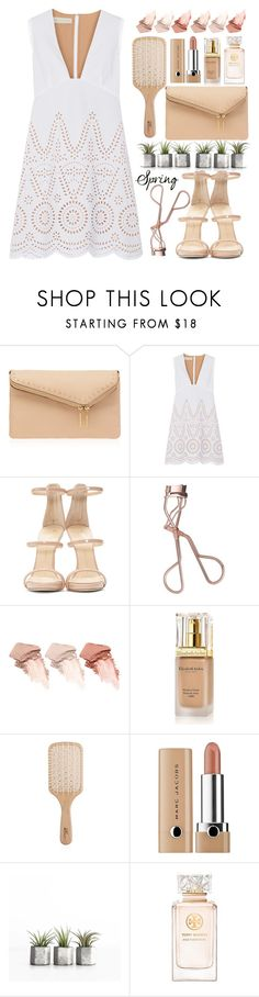"""""""Spring Day to Night"""" by razone ❤ liked on Polyvore featuring Henri Bendel, STELLA McCARTNEY, Giuseppe Zanotti, Charlotte Tilbury, Too Faced Cosmetics, Elizabeth Arden, Philip Kingsley, Marc Jacobs, Tory Burch and daytoevening"""