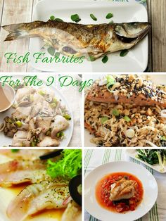 38 Fish Recipes To Spice Up Your 9 Days Menu