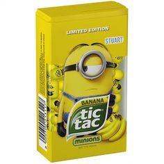 tic tac Banana Minions Im Shop voraussichtlich verfügbar ab 22.06.2015.