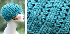This fab rickrack knitted braid hat will make your getup look even more stylish! Make it in different colors to match your outfit. Get the FREE ...