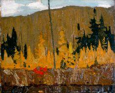 Tom Thomson Catalogue Raisonné | Autumn, Algonquin Park, Fall 1915 (1915.105) | Catalogue entry