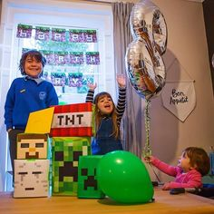 Throw back to Jackson's 8th Birthday....he absolutely loved the Minecraft themed party I designed and put together for him. This is my tribe, my family and the reason I work so hard on my own businesses... I'm passionate about making every day a celebration and even more so on their birthdays. The memories are awesome... 😍  #throwbackthursday #throwback