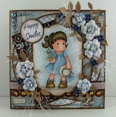 From My Craft Room: Happy Smiles - Magnolia-licious 'Bling It Up!'