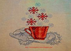 Hummingbird: A cup full of wishes - Ajisai Designs