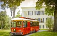 Located on the Antebellum Trail, Milledgeville is a town of historical treasures and commanding history. The guided trolley tour of Georgia's antebellum capital includes a drive through Milledgeville'
