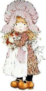 gifs et tubes sarah kay - Page 8 Sarah Key, Holly Hobbie, Mary May, Decoupage, Image Digital, Cute Illustration, Illustrations, Vintage Pictures, Vintage Cards