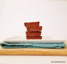 Quick, easy and delicious Chocolate Peanut Butter Bars. Free from gluten, grains, dairy, egg and refined sugar, easily adapted to be nut free. Enjoy.