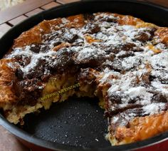 Cauliflower Pie is the perfect vegan substitute for egg casserole, and once cooked, the cauliflower tastes like potato, so even picky eaters will love it! Custard Ingredients, A Food, Food And Drink, Vegan Substitutes, Chocolate Lava Cake, Sweet Potato Hash, Lava Cakes, Mini Foods, Greek Recipes