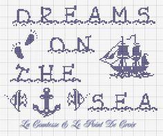 Ho disegnato questo schema fantasticando unavacanza, una giornataal mare un po' speciale...         Salpando su un meraviglioso ve...