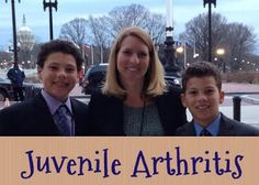 Juvenile Arthritis - Kim, Grant and Evan - The Missing Niche