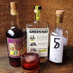 """TGIF!!!!!!!! (Thank GIN it's Friday)  Many of you enjoyed our Instagram pic of the All DC Negroni """"Libation without Representation"""" so we wanted to make sure you have the recipe. It is a beautiful day so go drink some gin. Tomorrow will be a lovely day too so come visit us at the distillery. Stay tuned to our Instagram Facebook and Twitter over the next 24 hours; we have a VERY SPECIAL event/contest to celebrate our Ginavit Fall/Winter 2015 release. (Hint: It involves costumes and Gin and…"""