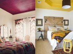 Ideias para pintar o teto de outras cores - Indice Feminino