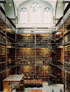 Rijksmuseum Research Library in Amsterdam. - Kate Tilton
