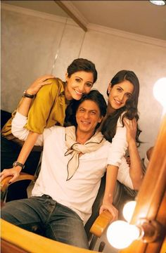 srk with katrina and anuskha sharma