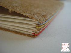 carta di riso giapponese, legatura punto lungo, formato A5 - www.monoarte.it