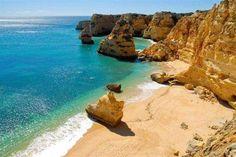 plus belles plages de l'algarve - Plage de Marinha