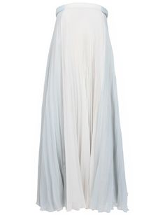 Maison Martin Margiela Mint/White Strapless Long Dress