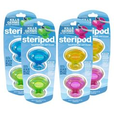 Steripod Toothbrush Sanitizer