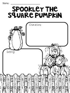 Character Traits with Spookley the Square Pumpkin