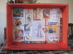 De dentro pra Casa: Old drawer