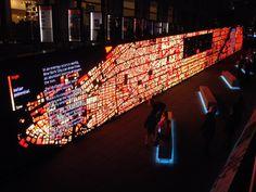 Data Wall: IBM Think Exhibit
