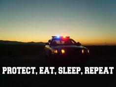 Protect, Eat, Sleep, Repeat