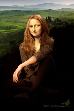 new classical Gioconda / visual metaphors