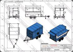 Trailer Diy, Food Trailer, Truck Canopy, Pizza Cones, Food Truck Design, Camper Trailers, Cool Trucks, Diy Food, Caravan