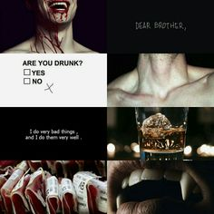 Damon Salvatore (tvd) aesthetic.