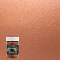 Lovely Copper Penny Matte Metallic Interior Paint, Matte Metallic Copper Penny