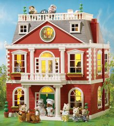 1000 images about sylvanian families on pinterest sylvanian families canal boat and regency. Black Bedroom Furniture Sets. Home Design Ideas