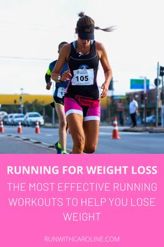 Running is one of the most accessible sports out there and it has so many physical benefits. But what if you want to use running for weight loss? Weight Loss Plans, Weight Loss Tips, Running Plan For Beginners, Lose Weight Running, Mommy Workout, Metabolic Diet, Boost Your Metabolism, Running Workouts, Excercise