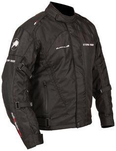 Ministry of Bikes - Buffalo Storm Rider Motorcycle Jacket - Black, �75.99 (http://www.ministryofbikes.co.uk/buffalo-storm-rider-motorcycle-jacket-black.html/)