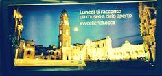 """""""Il #Buongiorno della #metro di #Roma! #weekendLecce @ferzanozpetek (aspettando il #4marzo) """"  Giovanni Licchelli da Twitter"""