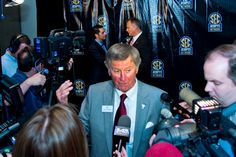 South Carolina coach Steve Spurrier at the SEC Network announcement