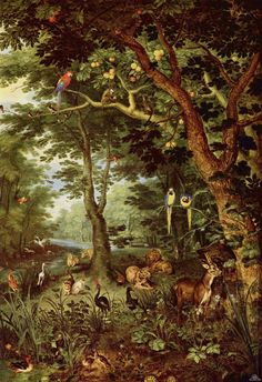 Bruegel the young, paradise