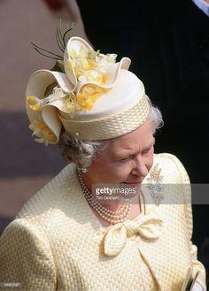 Queen Elizabeth II at Royal Ascot Races.