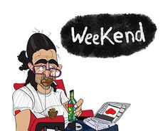 "Check out new work on my @Behance portfolio: ""weekend madafaka"" http://be.net/gallery/50870709/weekend-madafaka"