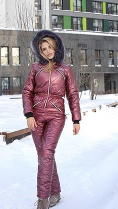 Down Suit, Winter Suit, Puffer Jackets, Active Wear, Cool Style, Overalls, Onesies, Jackets For Women, One Piece