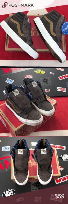 53c369fa90 Vans Sk8-Hi Zip Ca Coffee Beans  Vans Vans Shoes Sneakers Coffee Beans