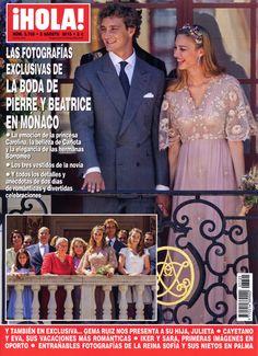 La boda de Pierre Casiraghi y Beatrice Borromeo en ¡HOLA!