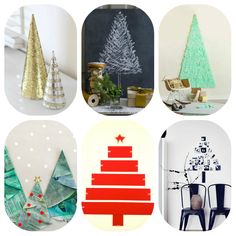 small space christmas trees